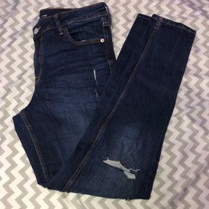 Old Navy Rockstar super skinny jeans. Size 10 LONG